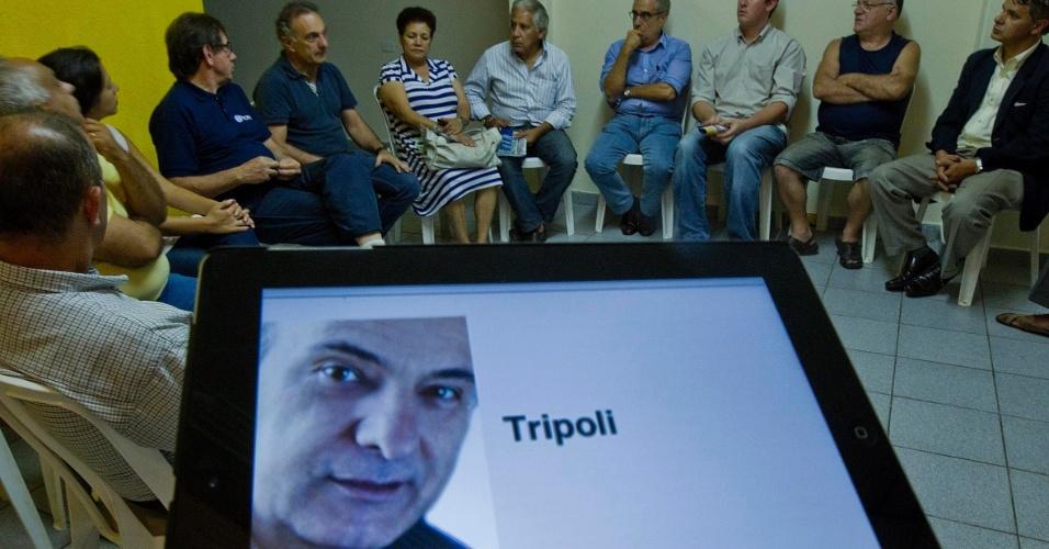 O deputado federal Ricardo Tripoli investiviu em encontros com militantes do PSDB na campanha para as prévias do partido