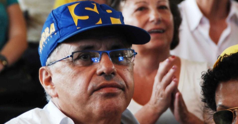 Filiados acompanham resultado das prévias tucanas realizadas em São Paulo; o ex-governador José Serra recebeu 52% dos votos e será o candidato do PSDB na capital paulista
