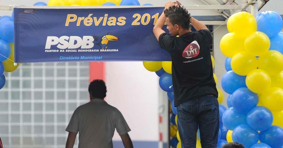 PSDB realiza neste domingo (25) as prévias à Prefeitura de São Paulo, disputadas por José Serra, José Aníbal e Ricardo Tripoli