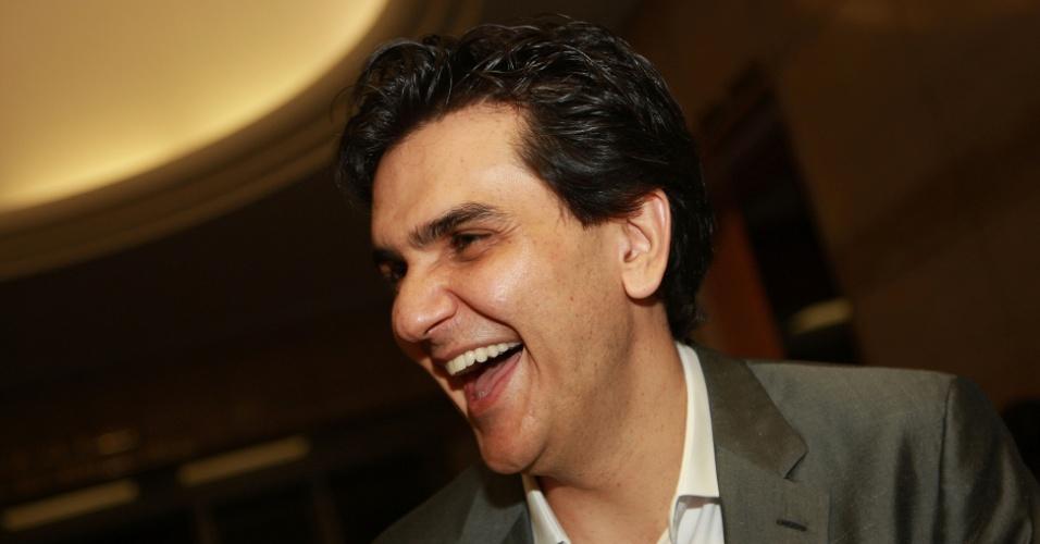 Gabriel Chalita, pré-candidato à Prefeitura de São Paulo pelo PMDB, participa de coquetel de aniversario do presidente da OAB-SP, Luiz Flavio Borges D'Urso no Jockey Club, em São Paulo