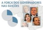 A força dos governadores nas eleições - Arte/UOL