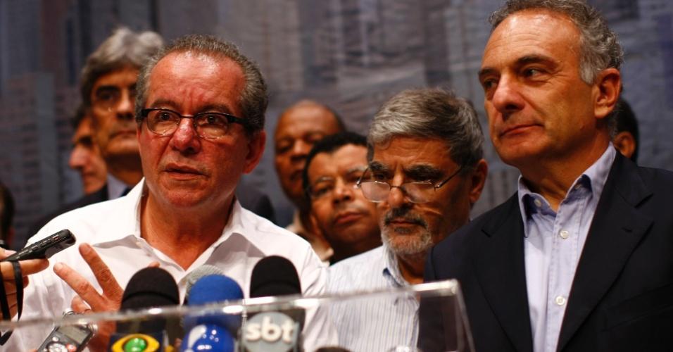 Tripoli e Aníbal participam de debate durante campanha para as prévias do PSDB