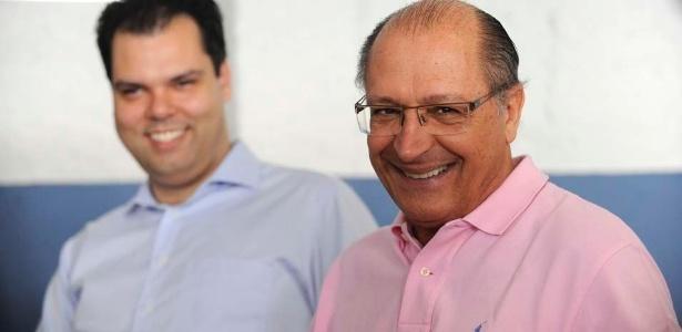Militância forte faz Covas (esq.) acreditar que PSDB terá nome para suceder Alckmin