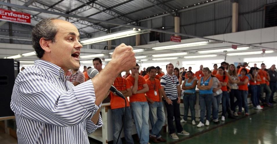 O ex-deputado federal Gustavo Fruet (PDT), que deixou o PSDB e é pré-candidato à Prefeitura de Curitiba