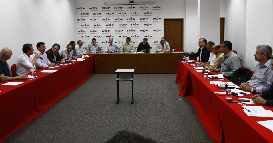 Reunião do Conselho Político da pré-candidatura de Fernando Haddad à Prefeitura de São Paulo