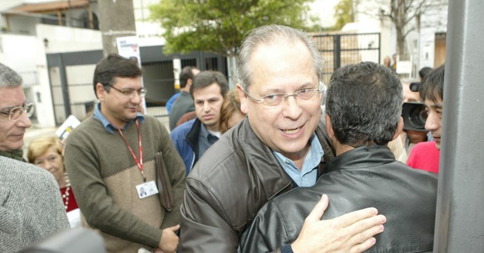 Ex-minstro e ex-deputado federal do PT José Dirceu