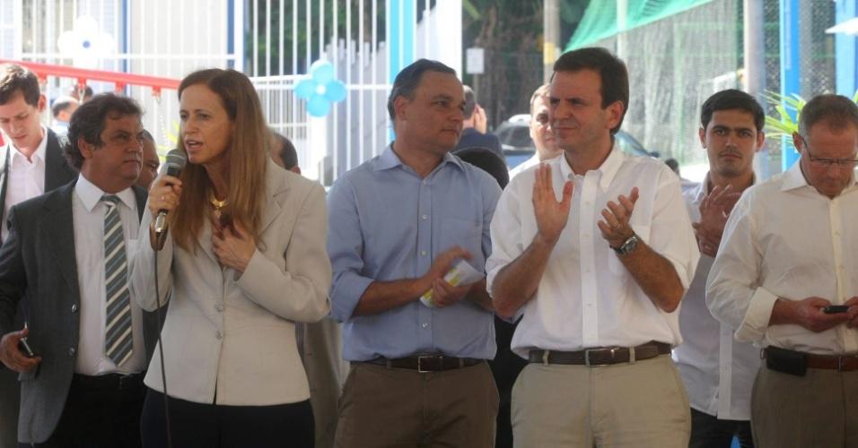 Inauguração de creche na Providência - Prefeito Eduardo Paes inaugura creche no morro da Providência. Foto: