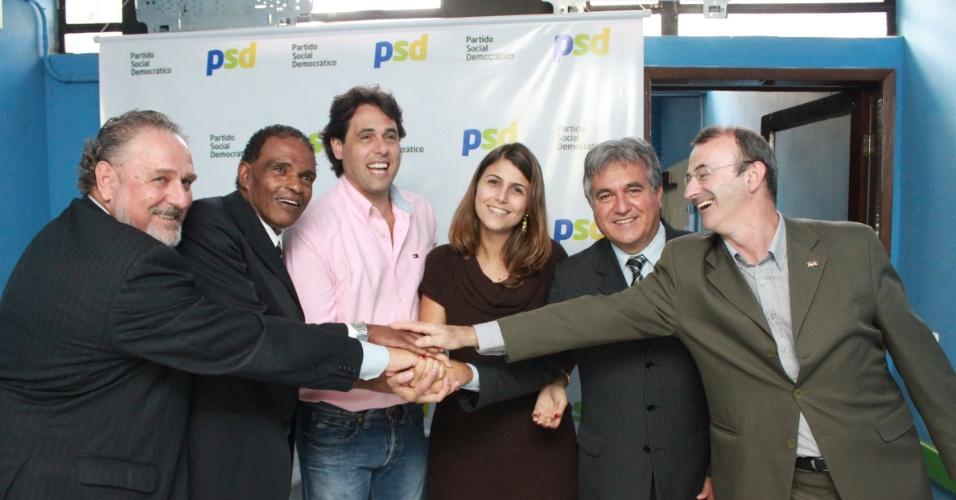 Pré-candidata à Prefeitura de Porto Alegre, deputada federal Manuela D'Ávila (PCdo-B), fecha aliança com o PSD