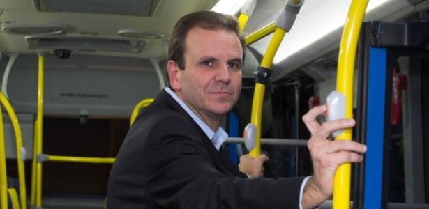 Segundo promotores, gestão de Paes não cumpriu meta para climatizar ônibus - Marcelo Fonseca - 18 abr. 2012/Agência O Globo
