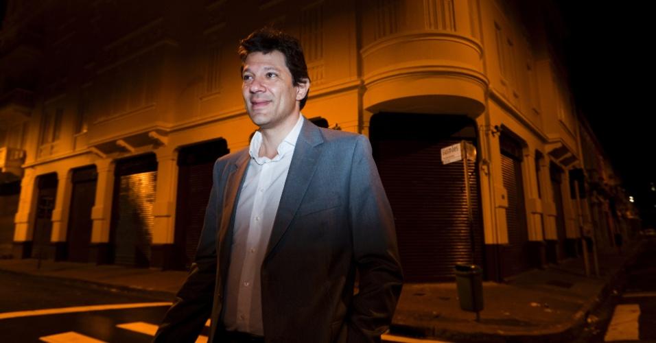 Fernando Haddad, pré-candidato do PT à Prefeitura de São Paulo