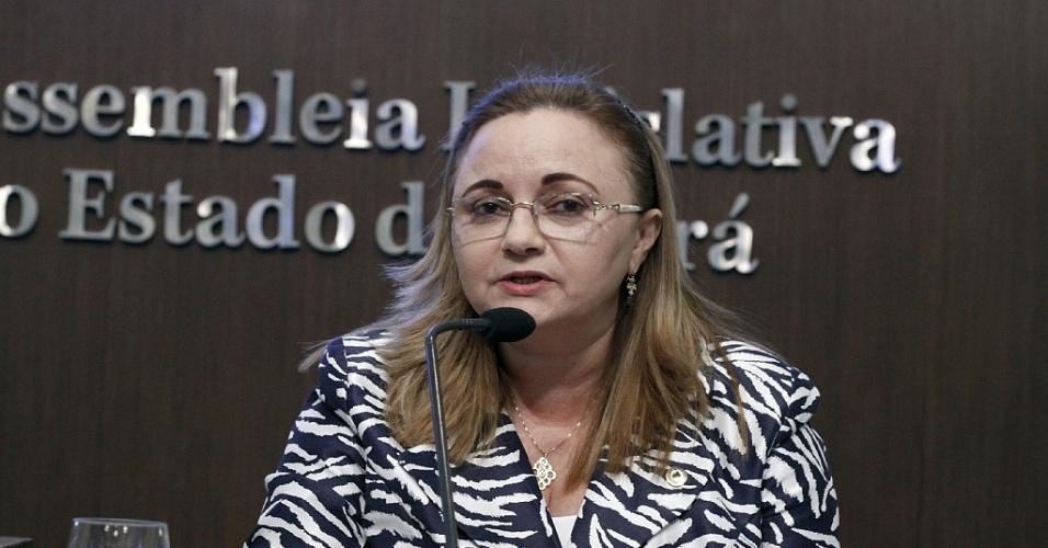 Deputada estadual Eliane Novais (PSB-CE)