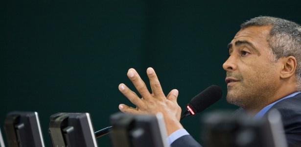 Romário deixou o PSB e perdeu o cargo de presidente da Comissão de Turismo e Desporto da Câmara