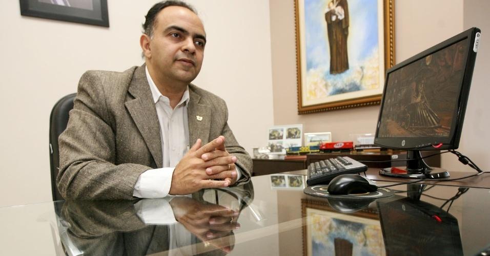 31.ago.2011 - Francisco Vuolo (PR-MT), secretário estadual Extraordinário de Acompanhamento da Logística Intermodal de Transporte