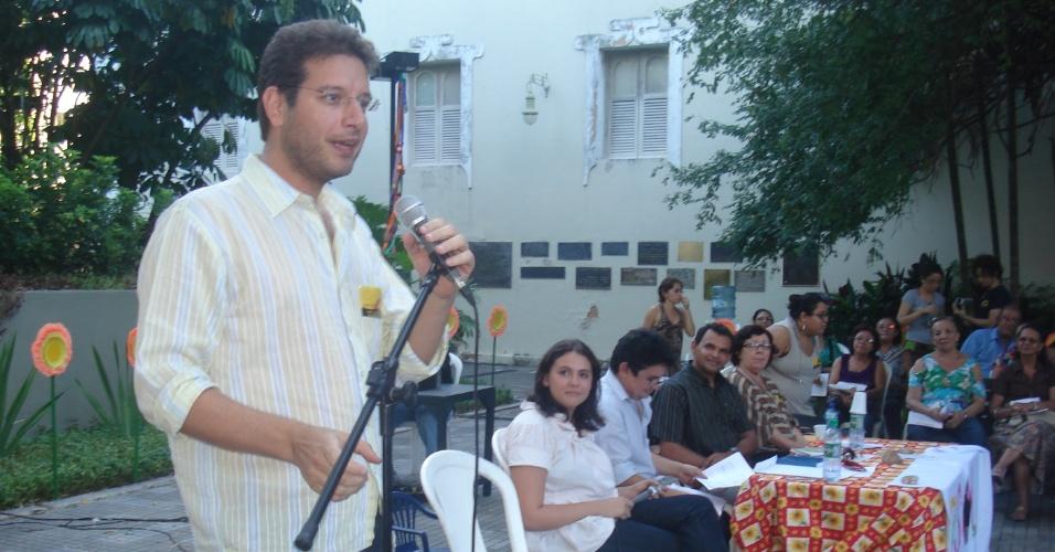 Renato Roseno (PSOL) pré-candidato à prefeitura de Fortaleza