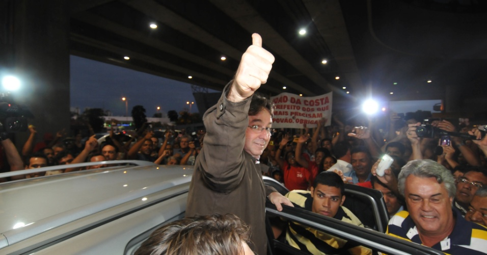 João da Costa chegando à Recife