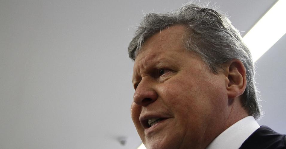 14.jun.2012 - Arthur Virgílio confirmou na quinta-feira (14) que será candidato à Prefeitura de Manaus pelo PSDB