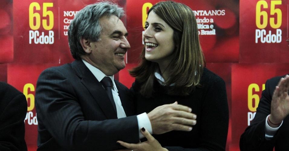 O vereador de Porto Alegre Nelcir Tessaro (PSD), anunciado como vice de Manuela D' Ávila (PC do B) na disputa pela prefeitura