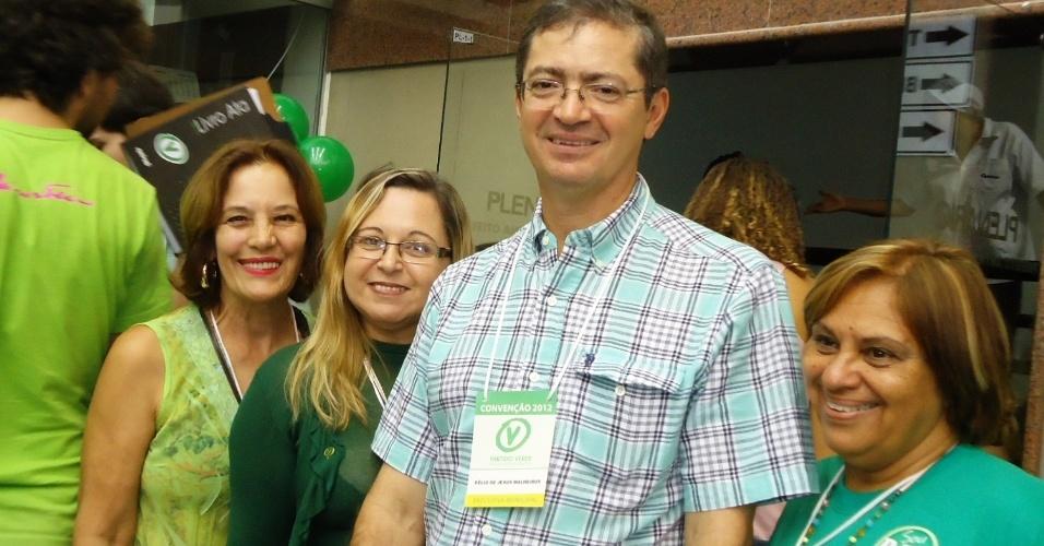 23.jun.2012 - O deputado estadual Délio Malheiros é indicado pelo diretório municipal do PV de Belo Horizonte para ser o candidato do partido à prefeito