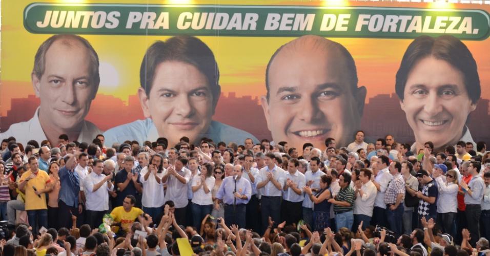 23.jun.2012 - O presidente da Assembleia Legislativa do Ceará, Roberto Cláudio, discursa durante convenção que o confirmou como candidato do PSB à Prefeitura de Fortaleza