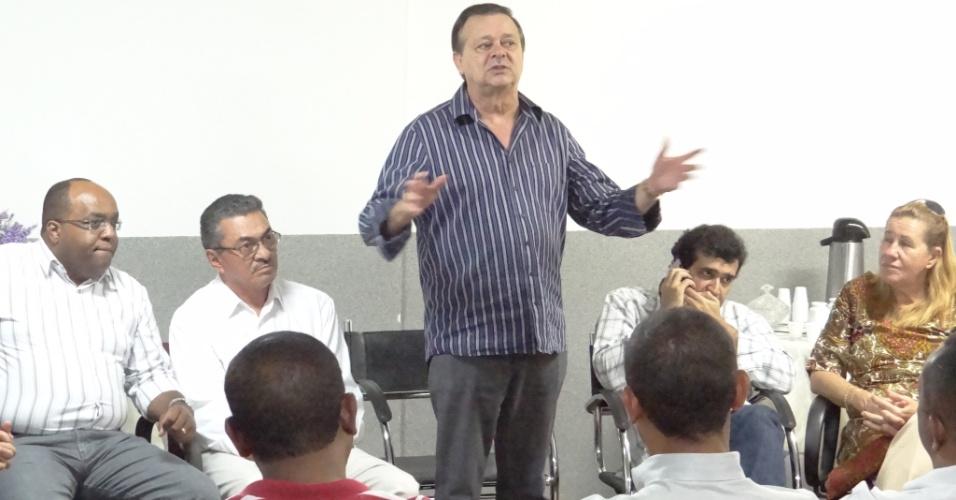 12º - Jovair Arantes (PTB) - O candidato à Prefeitura de Goiânia disse ter R$ 3,7 milhões em bens. Entre as posses está uma gleba de terras, em Itumbiara (GO), no valor de R$ 1,1 milhão e uma casa no valor de R$ 450 mil
