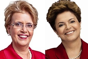 Margarida Salomão (foto) mudou o visual para ficar parecido com a presidente Dilma Rousseff