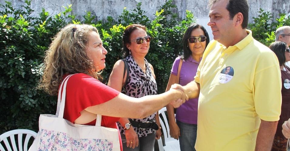 Carlos Eduardo, candidato do PDT à Prefeitura de Natal, participa de encontro com grupos religiosos da capital potiguar