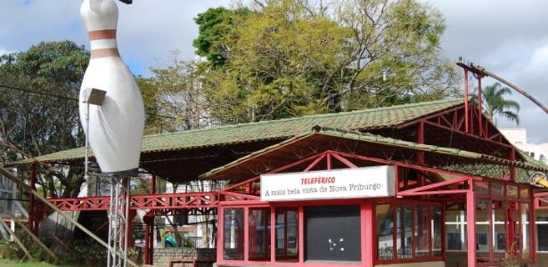 Ponto turístico de Nova Friburgo (RJ), teleférico segue quebrado  - Priscila Tieppo/UOL