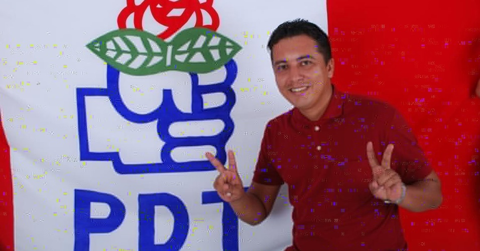 15.ago.2012 - Allisson Rhobert Silveira, candidato a vereador na cidade de São Luís pelo PDT, foi assassinado durante tentativa de assalto na noite desta terça-feira. Ele foi atingido por um tiro na cabeça e morreu no local