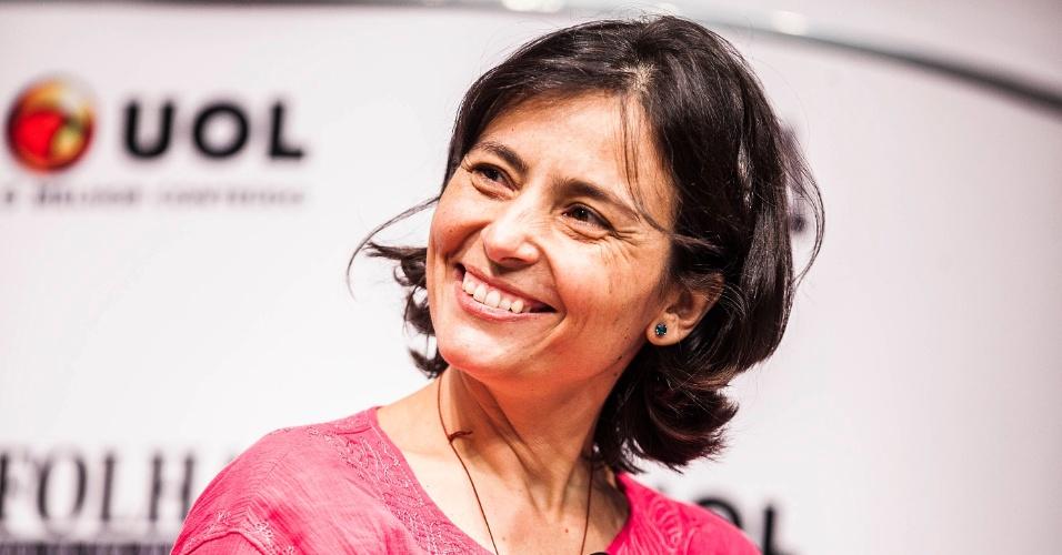 Soninha Francine (PPS) participa da sabatina Folha/UOL com candidatos à Prefeitura de São Paulo