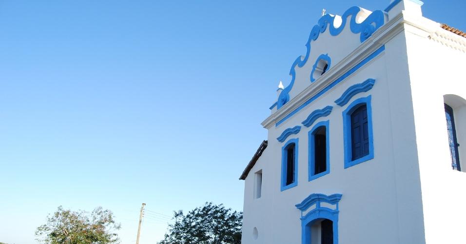 A igreja de Nossa Senhora das Neves marcou a fundação da cidade e fica localizada na Praia das Neves