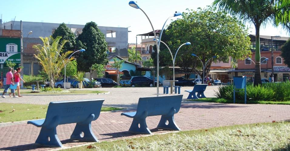 A praça de Presidente Kennedy é o ponto de referência da cidade do litoral do Espírito Santo. Lá, os moradores se encontram para conversar