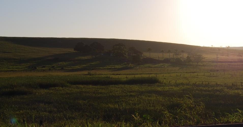 A zona rural de Presidente Kennedy tem 2/3 da população. É lá que ficam as comunidades quilombolas Cacimbinha e Boa Esperança