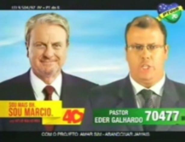 Pastor Eder Galhardo (PT do B) é candidato a vereador em Belo Horizonte