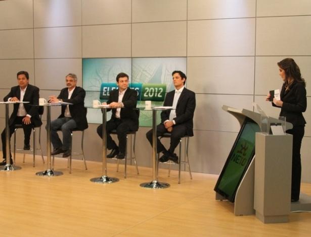 Candidatos participam de debate online promovido pelo portal NE10