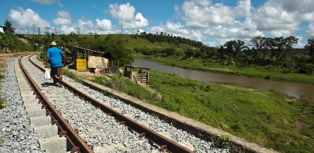 Rio Largo (AL) ainda espera por trem - Leandro Moraes/UOL