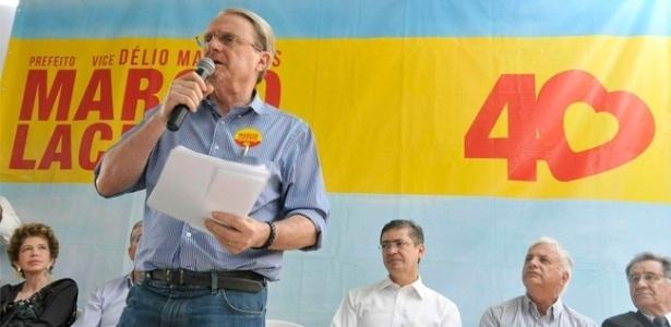 5.set.2012 - O prefeito de Belo Horizonte e candidato à reeleição pelo PSB, Marcio Lacerda, participou de encontro com os dirigentes dos Conselhos Regionais de Contabilidade e Administração, na capital mineira, na tarde desta quarta