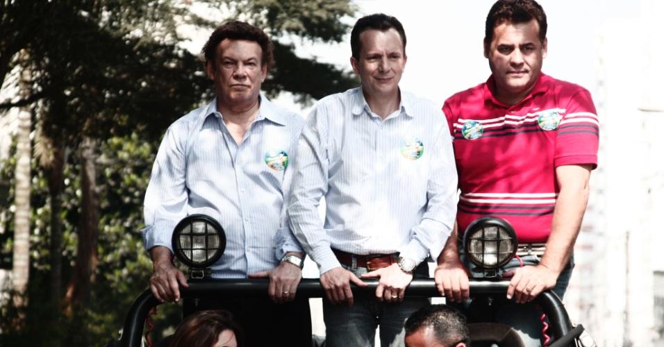 7.set.2007 - O candidato do PRB à Prefeitura de São Paulo, Celso Russomanno, fez carreata partindo da Assembleia Legislativa de São Paulo com chegada próxima ao Monumento do Ipiranga, no Dia da Independência do Brasil