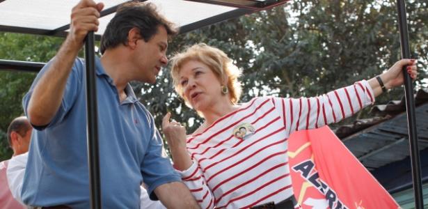 Haddad (PT) e Marta (ex-PT) vão disputar o legado do bilhete único e dos CEUs