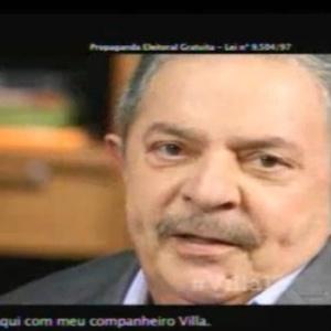 Lula no programa de Villaverde - POA