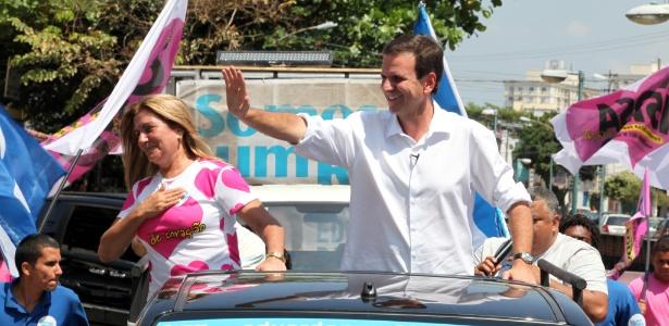 Eduardo Paes esteve a campanha inteira na frente nas pesquisas e venceu no 1º turno
