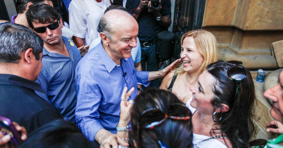 15.set.2012 - O candidato do PSDB à Prefeitura de São Paulo, José Serra, participou do evento