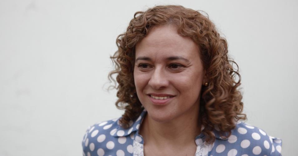 Conceição Missio, candidata do PSOL à Prefeitura de Sorriso, concorre pela primeira vez a um cargo público
