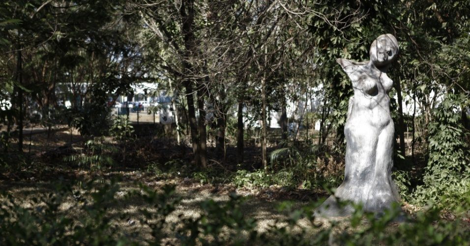Parque central de Sorriso (MT), onde fica o marco zero da cidade