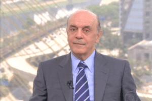 """O candidato do PSDB à Prefeitura de São Paulo, José Serra, em entrevista ao """"SP TV"""" nesta terça (18)"""