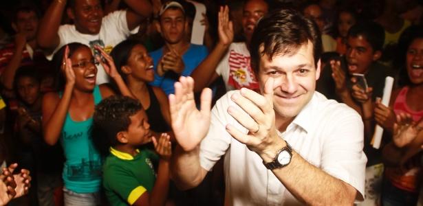 O socialista Geraldo Julio, vencedor pela coligação Frente Popular do Recife, que reúne 14 partidos