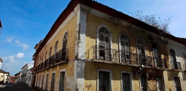 Centro abandonado em São Luís - Leandro Moraes/UOL