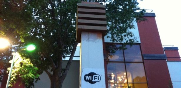 Wi-fi na floresta  - Noelle Marques/UOL