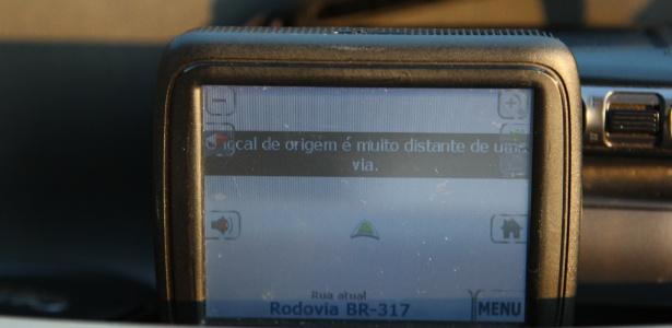 GPS não localiza  - Noelle Marques/UOL