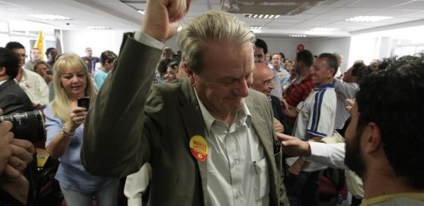 Com apoio de Aécio Neves, Marcio Lacerda (PSB) é reeleito e impõe derrota à presidente Dilma Roussef