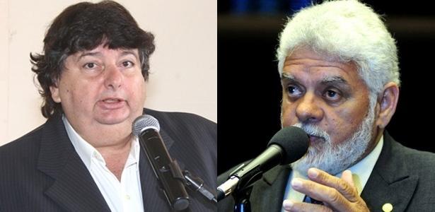 Atual prefeito Antônio Francisco Neto (à esq.) e Zoinho (à dir.) tiveram uma disputa acirrada durante a campanha
